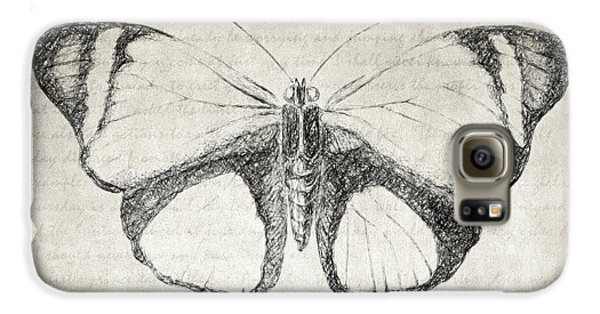 Butterfly Quote - The Little Prince Galaxy S6 Case by Taylan Apukovska