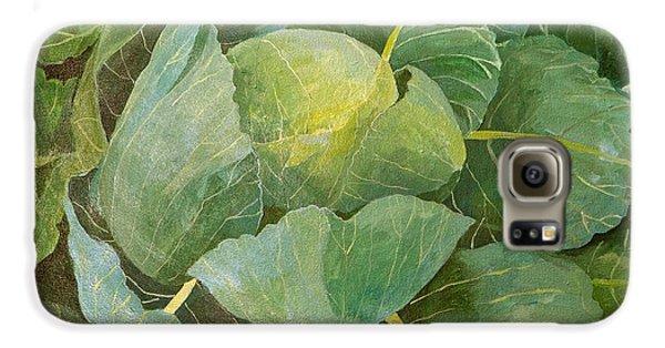 Cabbage Galaxy S6 Case by Jennifer Abbot