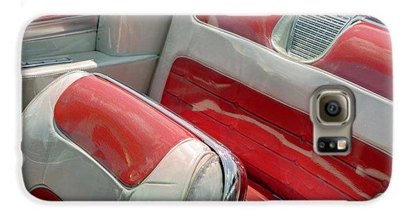 Cadillac El Dorado 1958 Seats. Miami Galaxy S6 Case by Juan Carlos Ferro Duque