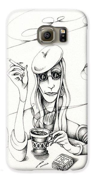 Cafe Lady Galaxy S6 Case
