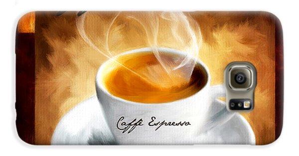 Caffe Espresso Galaxy S6 Case by Lourry Legarde