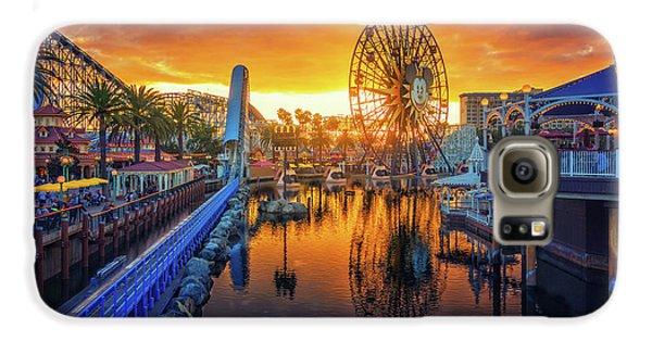 Calfornia Sunset Galaxy S6 Case