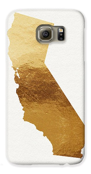California Gold- Art By Linda Woods Galaxy S6 Case by Linda Woods