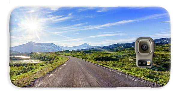 Mountain Galaxy S6 Case - Call Of The Road by Dmytro Korol