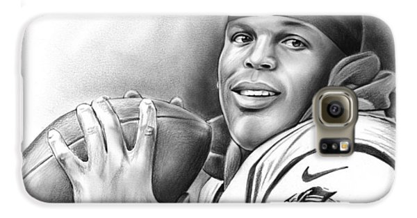 Cam Newton Galaxy S6 Case by Greg Joens