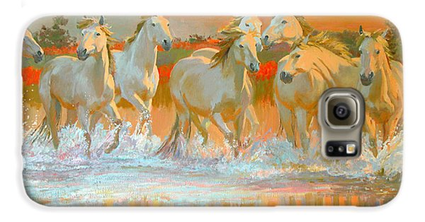 Camargue  Galaxy S6 Case by William Ireland