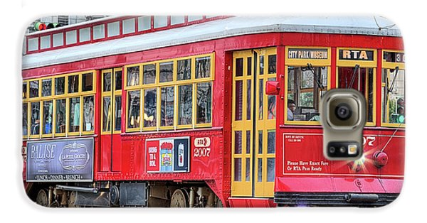 Galaxy S6 Case featuring the photograph Canal Street Streetcar by JC Findley