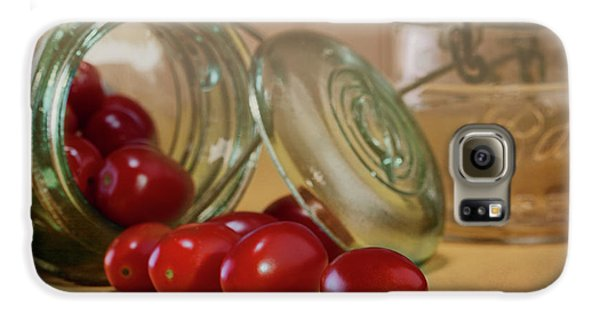 Tomato Galaxy S6 Case - Canned Tomatoes - Kitchen Art by Tom Mc Nemar