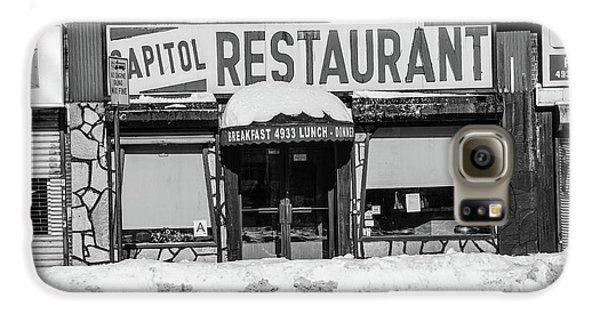 Capitol Restaurant Galaxy S6 Case