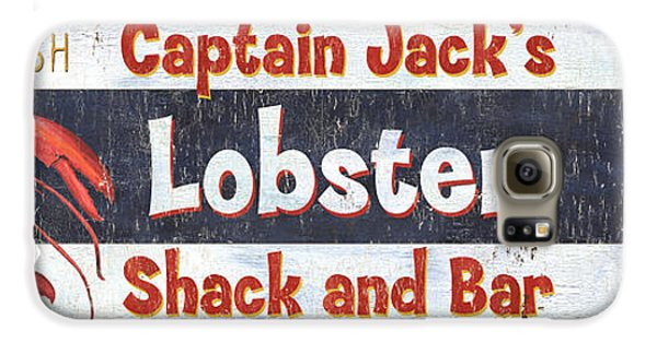 Captain Jack's Lobster Shack Galaxy S6 Case