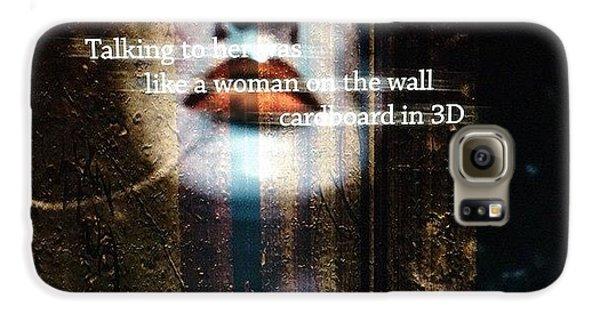 Beautiful Galaxy S6 Case - Cardboard In 3d   by Steven Digman