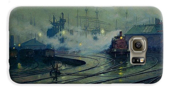 Cardiff Docks Galaxy S6 Case by Lionel Walden