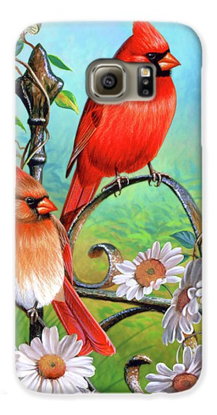 Cardinal Day 3 Galaxy S6 Case by JQ Licensing
