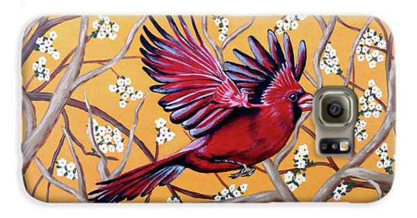Cardinal In Flight Galaxy S6 Case