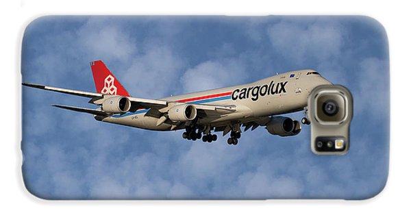 Jet Galaxy S6 Case - Cargolux Boeing 747-8r7 1 by Smart Aviation