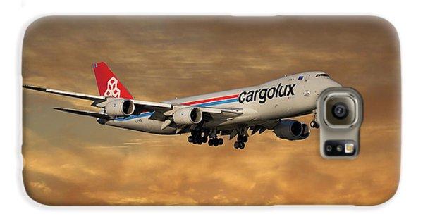 Jet Galaxy S6 Case - Cargolux Boeing 747-8r7 2 by Smart Aviation