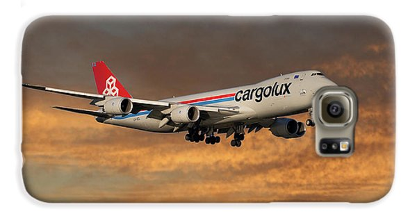 Jet Galaxy S6 Case - Cargolux Boeing 747-8r7 3 by Smart Aviation