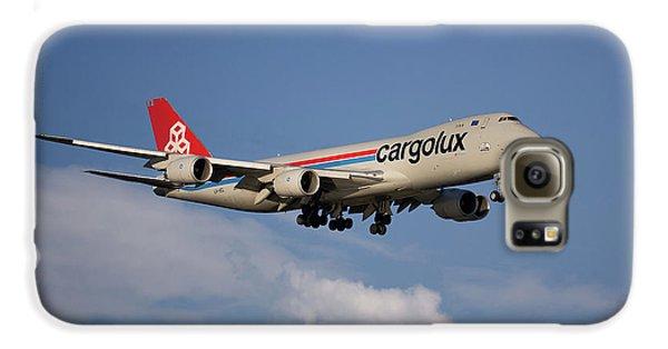 Jet Galaxy S6 Case - Cargolux Boeing 747-8r7 4 by Smart Aviation