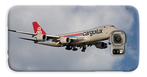 Jet Galaxy S6 Case - Cargolux Boeing 747-8r7 5 by Smart Aviation