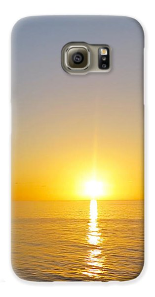 Caribbean Sunset Galaxy S6 Case by Teresa Wing