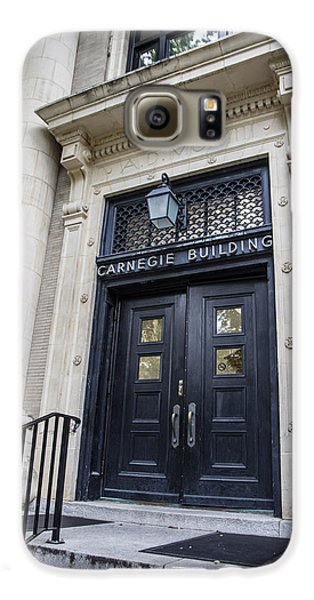 Carnegie Building Penn State  Galaxy S6 Case by John McGraw