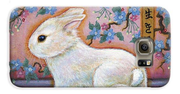 Carpe Diem Rabbit Galaxy S6 Case