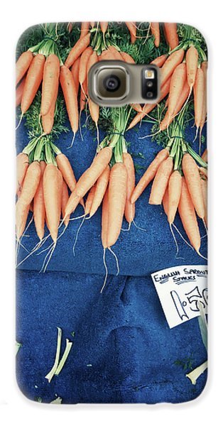 Carrots At The Market Galaxy S6 Case by Tom Gowanlock
