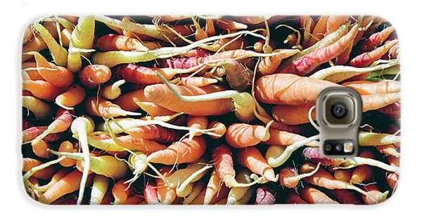 Carrots Galaxy S6 Case by Ian MacDonald