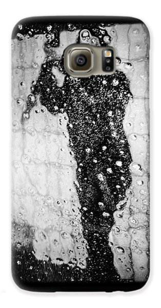 Carwash Cool Black And White Abstract Galaxy S6 Case