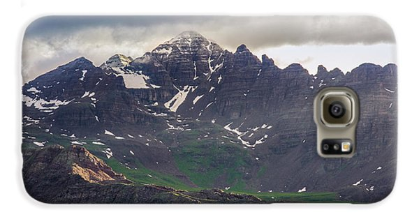 Galaxy S6 Case featuring the photograph Castle Peak by Aaron Spong