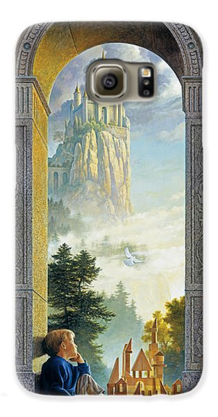 Fantasy Galaxy S6 Case - Castles In The Sky by Greg Olsen