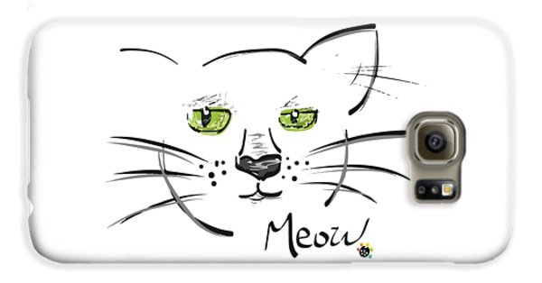 Cat Meow Galaxy S6 Case