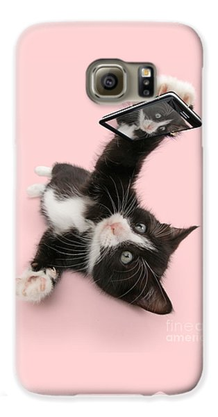 Cat Selfie Galaxy S6 Case