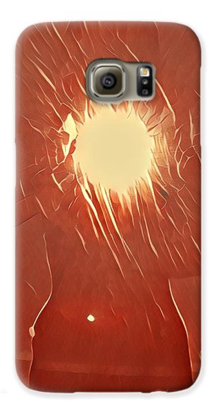 Galaxy S6 Case - Catching Fire by Gina Callaghan