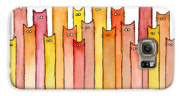 Cats Autumn Colors Galaxy S6 Case