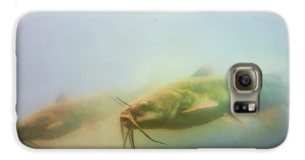 Catfish Galaxy S6 Case - Cats In The Water by Susan Capuano