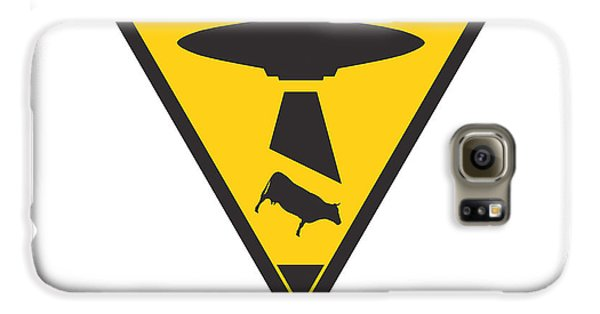 Caution Ufos Galaxy S6 Case