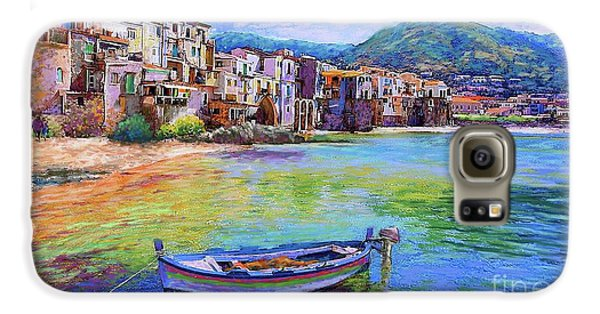 Town Galaxy S6 Case - Cefalu Sicily Italy by Jane Small