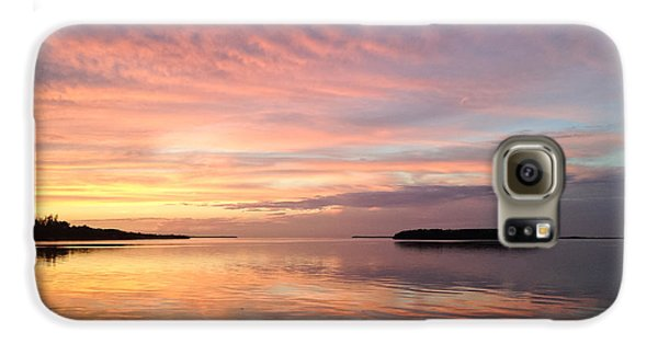 Celebrating Sunset In Key Largo Galaxy S6 Case