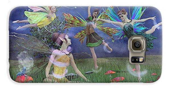 Elf Galaxy S6 Case - Celebration Of Night Alice And Oz by Betsy Knapp