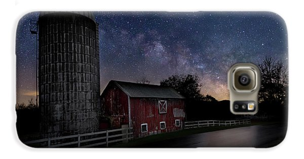 Galaxy S6 Case featuring the photograph Celestial Farm by Bill Wakeley