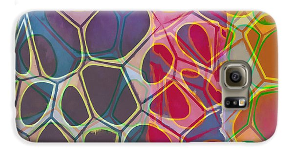 Detail Galaxy S6 Case - Cell Abstract 11 by Edward Fielding