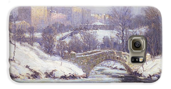 Central Park Galaxy S6 Case by Colin Campbell Cooper