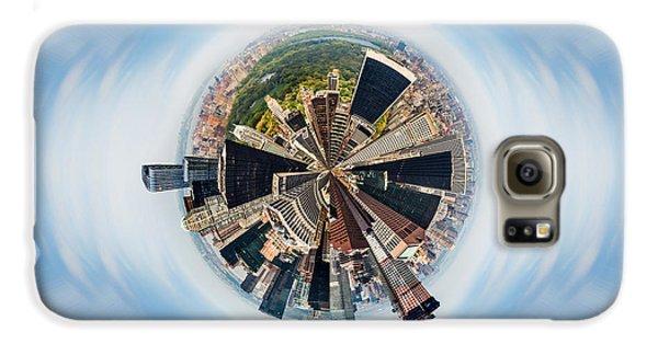 New York City Skyline Galaxy S6 Case - Eye Of New York by Az Jackson