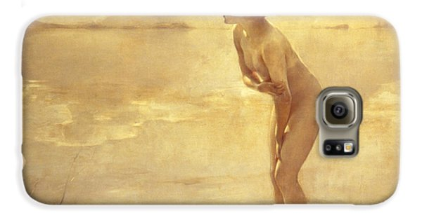 Nudes Galaxy S6 Case - Chabas, September Morn by Paul Chabas