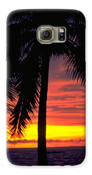 Champagne Sunset Galaxy S6 Case by Travel Pics
