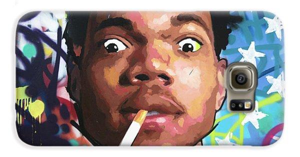 Jay Z Galaxy S6 Case - Chance The Rapper by Richard Day