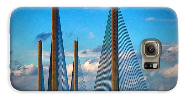 Charles W Cullen Bridge South Approach Galaxy S6 Case
