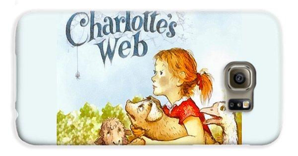 Geese Galaxy S6 Case - Charlottes Web by Elizabeth Coats