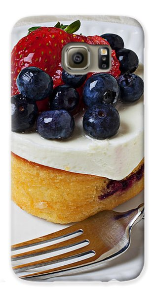 Cheese Cream Cake With Fruit Galaxy S6 Case
